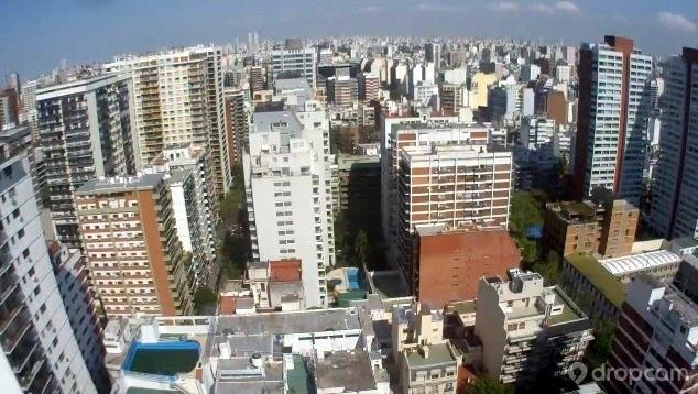 Веб камера показывает Площадь Республики в Буэнос-Айресе